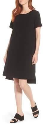 Eileen Fisher Tencel(R) Lyocell Blend Knit Shift Dress