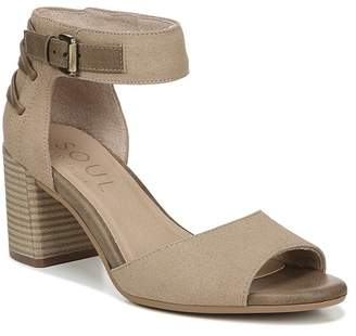 Naturalizer SOUL Carmen Ankle Strap Heeled Sandal - Wide Width Available
