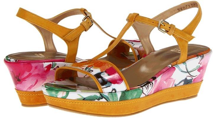 Stuart Weitzman Flatty (Petunia Patent) - Footwear