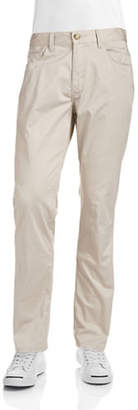 Perry Ellis Slim Fit Stretch Cotton Pants