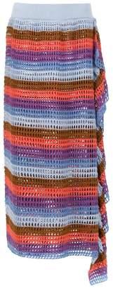 Cecilia Prado Audrey knitted midi skirt