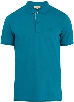 Burberry Oxford cotton-piqué polo shirt