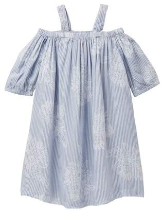 Joe Fresh Cold Shoulder Dress (Little Girls & Big Girls)