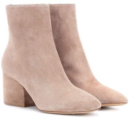 Salvatore Ferragamo Pisa 70 suede ankle boots