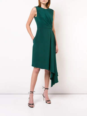 ADAM by Adam Lippes Asymmetric short-sleeve dress