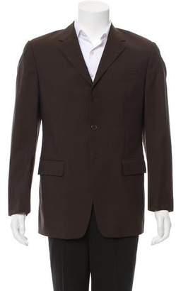 Prada Wool Three-Button Blazer