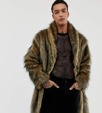 Reclaimed Vintage faux fur jacket