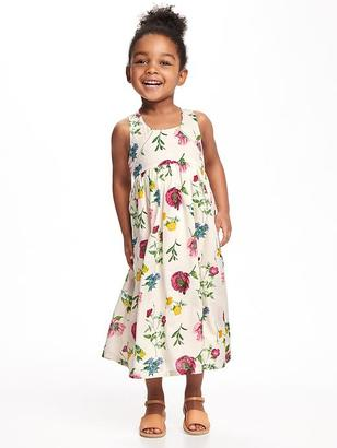 Floral-Print Maxi for Toddler Girls $24.94 thestylecure.com