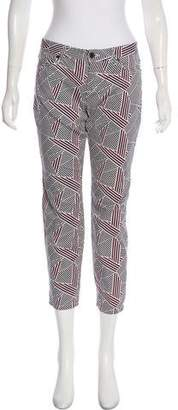 Theory Printed Skinny Pants