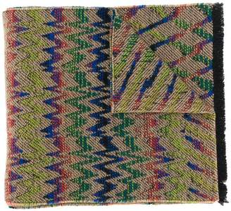 Missoni long patterned scarf