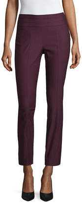 Liz Claiborne Womens Mid Rise Ankle Pull-On Pants