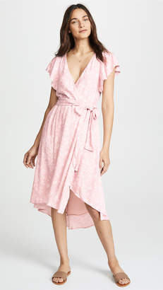 McGuire Denim Bassinger Wrap Dress