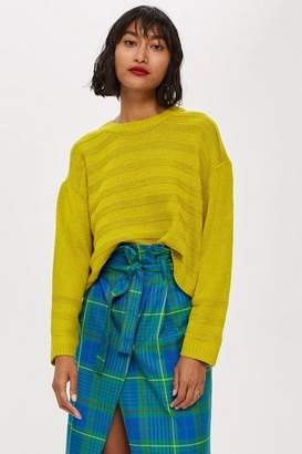 Topshop Ottoman Cropped Jumper