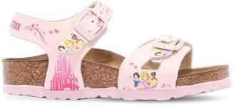 Birkenstock Disney Print Faux Leather Sandals