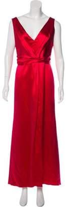 Armani Collezioni Silk Maxi Dress