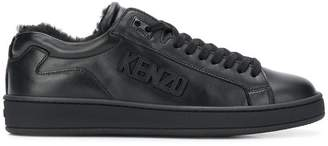 Kenzo Tennix leather sneakers
