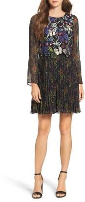 Women's French Connection Cassatt Fit & Flare Dress $268 thestylecure.com