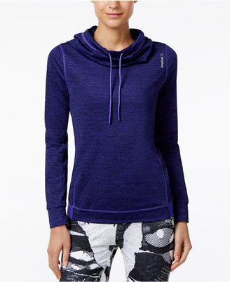 Reebok Funnel-Neck Sweatshirt $50 thestylecure.com