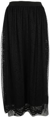 Ermanno Scervino Double Layered Lace Skirt