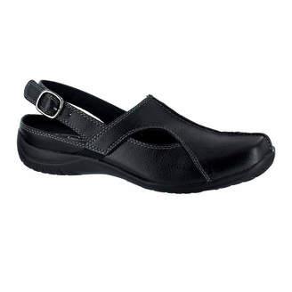 3353ba550e9 Easy Street Shoes Womens Sportser Pumps Buckle Square Toe Flat Heel