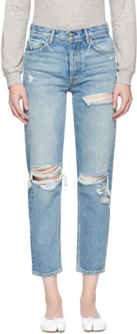 Blue Helena Long Jeans