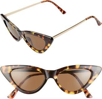 BP Perfect 53mm Cat Eye Sunglasses