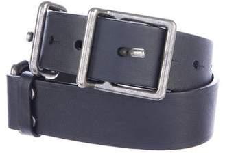 Lanvin Leather Buckle Belt