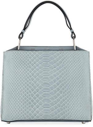 VBH Seven 30 Shiny Top Handle Bag, Blue