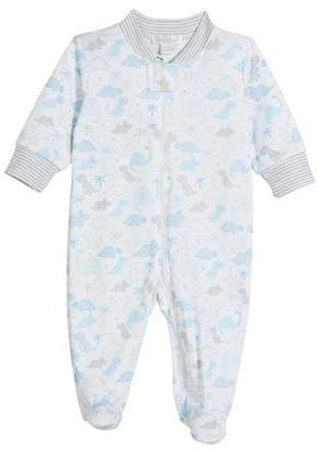 cdc07a8cb ... Kissy Kissy Roarsome Printed Pima Zip-Front Footie Playsuit, Size  Newborn-9 Months