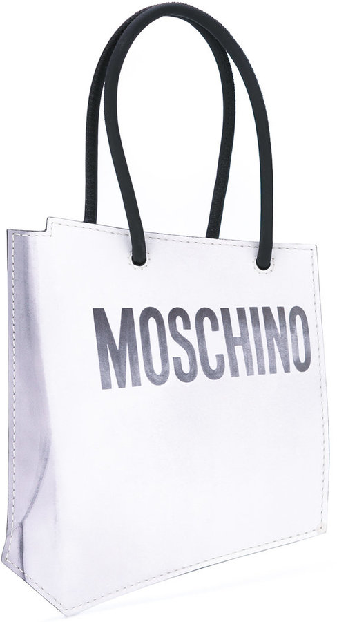 Moschino Moschino shopper illusion clutch bag