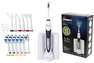 Pursonic S520 Rechargeable Sonic Toothbrush- Includes 20 accessories: 12 Brush Heads & More