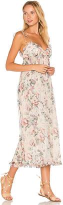 Zimmermann Jasper Floral Jumpsuit in Cream $795 thestylecure.com