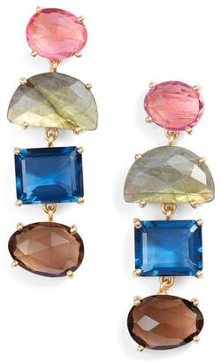 Joya COLLECTIONS BY Alex Jewel Tone Drop Earrings