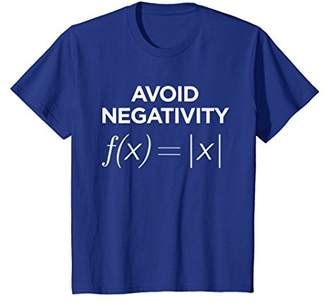 Avoid Negativity Math Equation Shirt Funny Math Teacher Gift