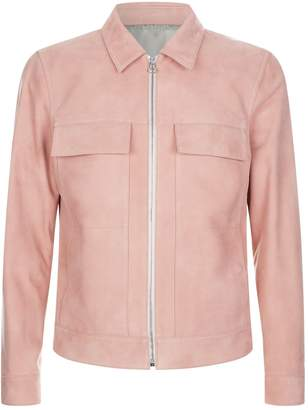 Solid Homme Suede Leather Jacket