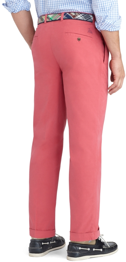 Brooks Brothers Thompson Garment-Dyed Twill Chinos