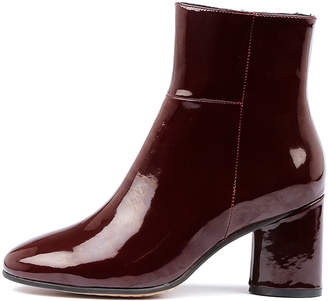 Alias mae Zulu-am Burgundy Boots Womens Shoes Casual Ankle Boots