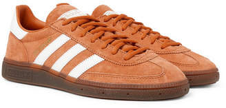 adidas Handball Spezial Suede And Leather Sneakers - Orange