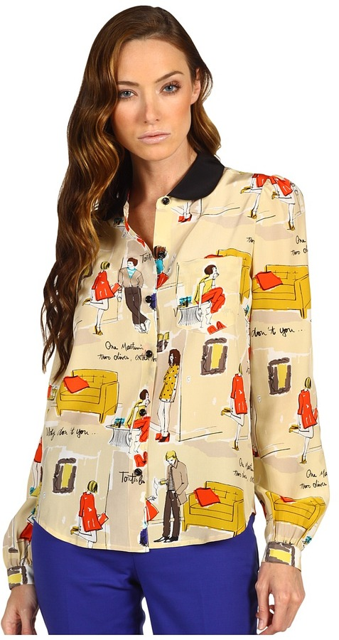 Kate Spade Jessie Top (Cocktail Party) - Apparel
