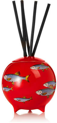 Fornasetti Sardine Rosso Diffusing Sphere - Red
