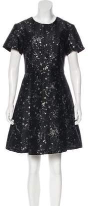 Markus Lupfer Printed Mini Dress w/ Tags