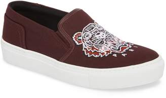 Kenzo K Skate Embroidered Slip-On Sneaker