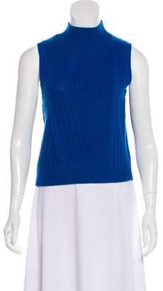 Diane von Furstenberg Sleeveless Wool & Cashmere-Blend Top