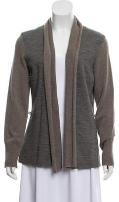 Fabiana Filippi Medium-Weight Open Front Cardigan grey Medium-Weight Open Front Cardigan