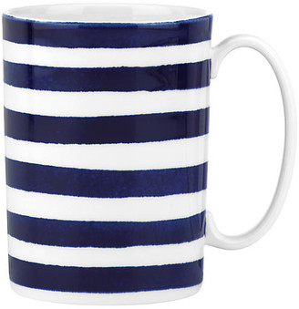 Kate Spade Charlotte Street North Mug - White/Blue
