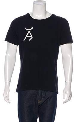 Frame Printed Short Sleeve T-Shirt w/ Tags