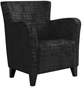 Monarch Specialties ACCENT CHAIR - EARTH TONE GRAPHIC PATTERN FABRIC