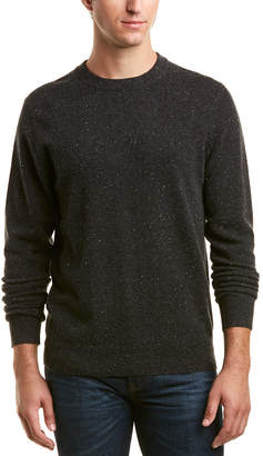 Qi Donegal Cashmere Crewneck Sweater
