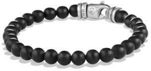 David Yurman Spiritual Beads Bracelet With Black Onyx, 6Mm