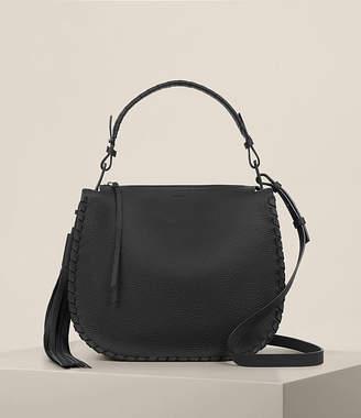 AllSaints Mori Leather Hobo Bag